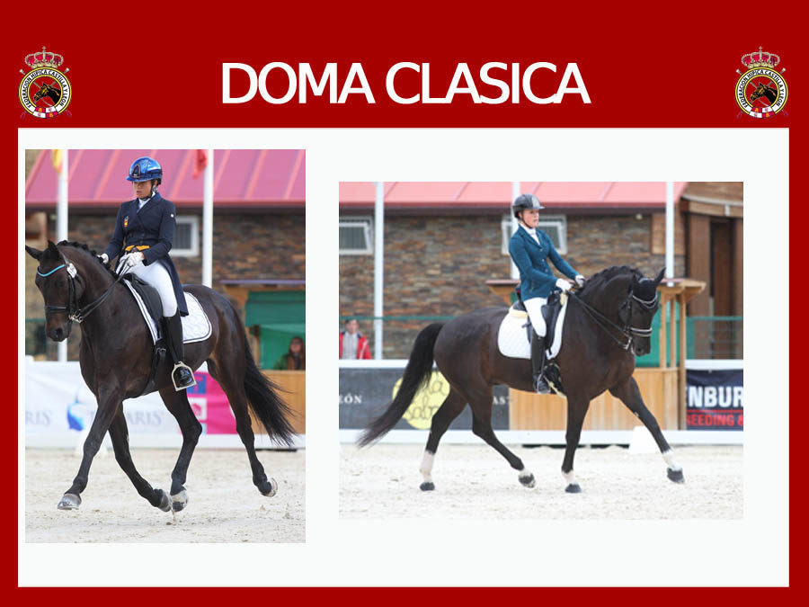 Triunfos de  la zamorana Alba Abollo y de la segoviana Carla de la Fuente en el Concurso Internacional de Doma (CDI 3*) celebrado en Segovia